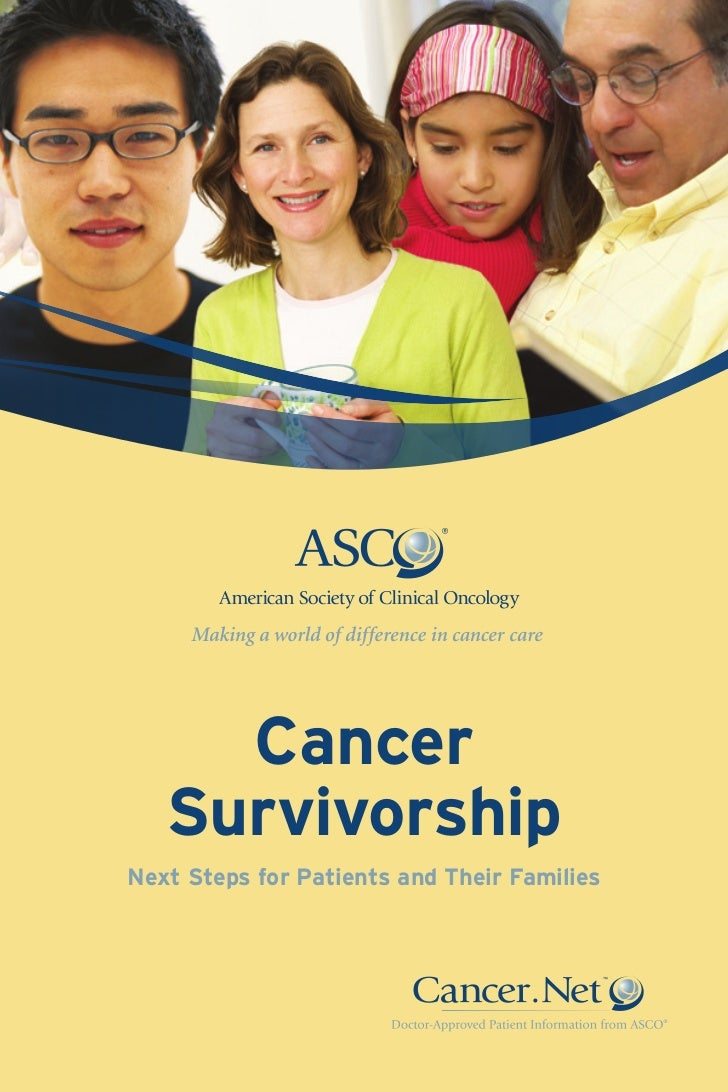 Cancer   SurvivorshipNext Steps for Patients and Their Families