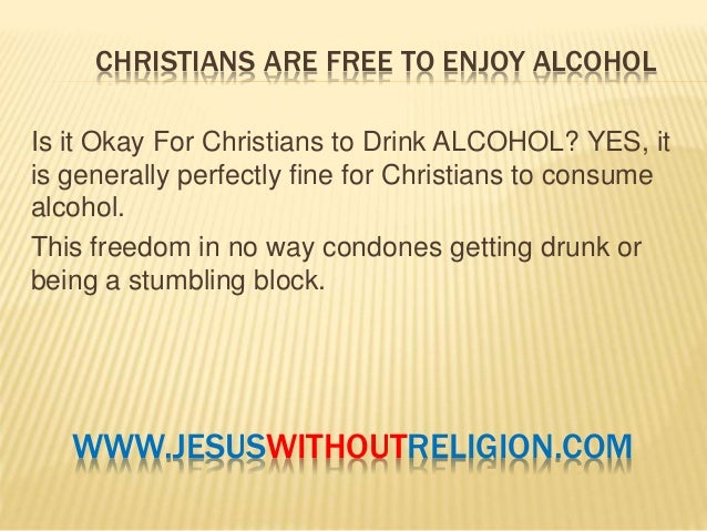 Can christians drink