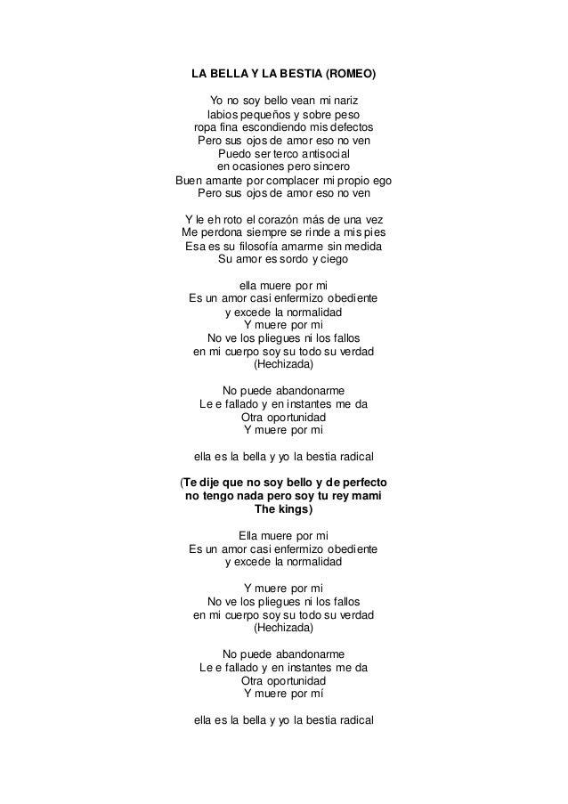 Para amarte lyrics