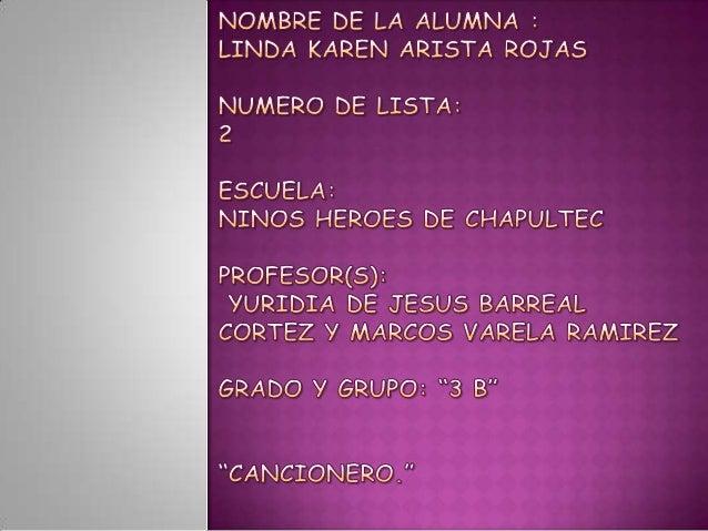  NOMBRE   NOMBRE  DEL CANTANTE : ALFREDITO OLIVAS  DE LA CANCION : EL PRECIO DE LA SOLEDAD