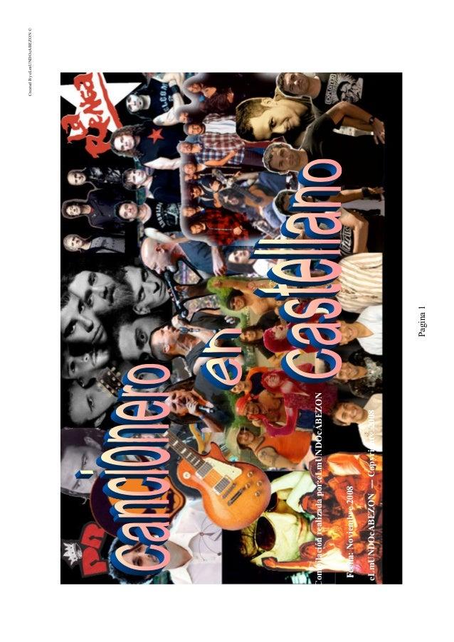 CreatedByeLmUNDOcABEZON© Pagina1 Compilaciónrealizadapor:eLmUNDOcABEZON FFeecchhaa:Noviembre2008 eLmUNDOcABEZON---Copyrigh...
