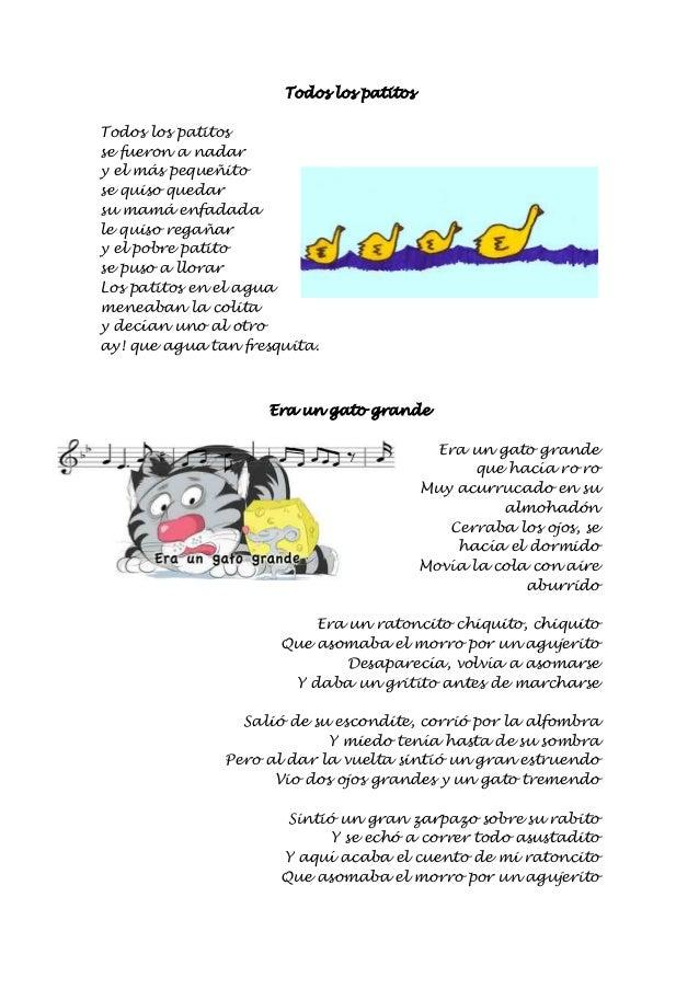 Cancionero Infantil Escuela Bibichu