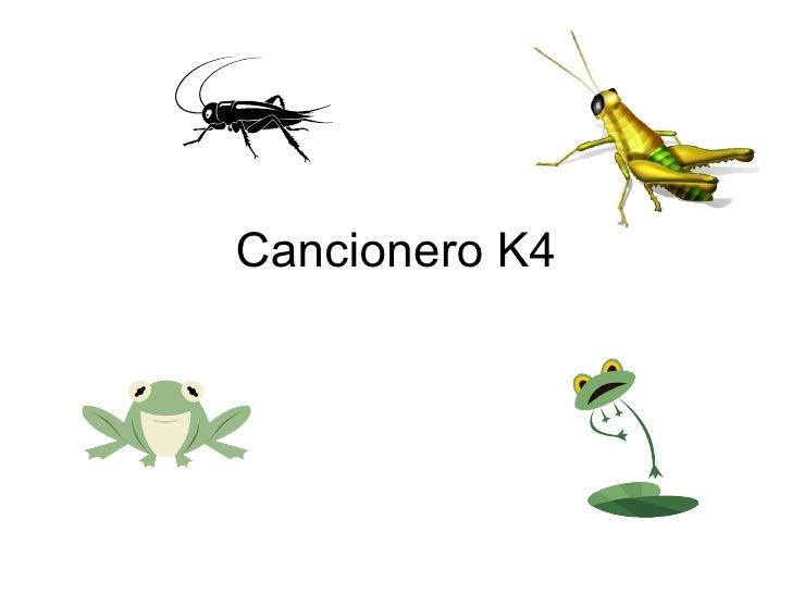 Cancionero K4