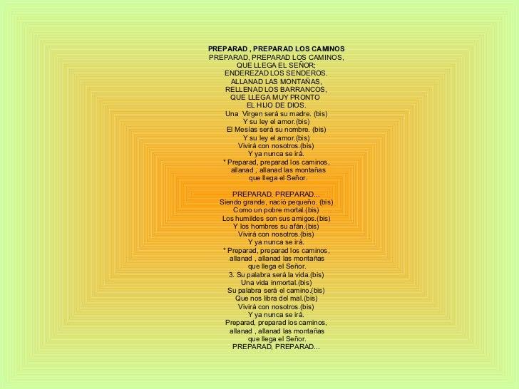 Nombres de canciones de la navidad