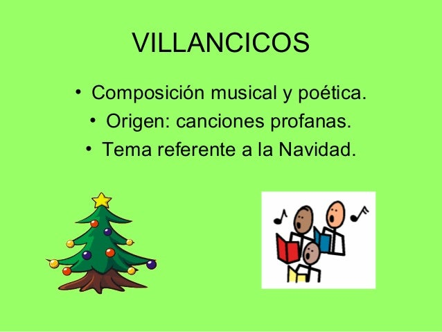 Canciones Y Villancicos