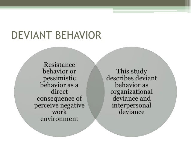 cause effect essay on the causes of deviant behavior