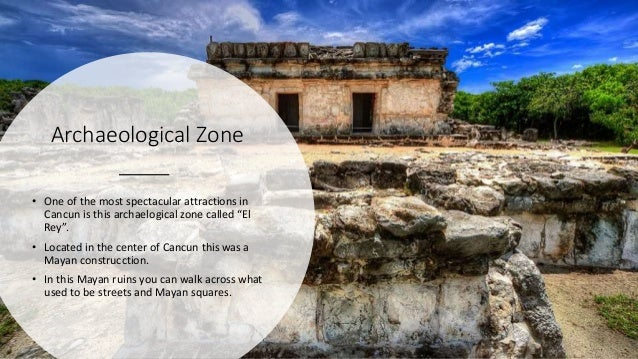 """Archaeological Zone • One of the most spectacular attractions in Cancun is this archaelogical zone called """"El Rey"""". • Loca..."""