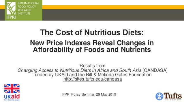 Results from Changing Access to Nutritious Diets in Africa and South Asia (CANDASA) funded by UKAid and the Bill & Melinda...
