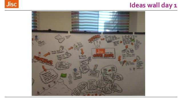 Ideas wall day 1
