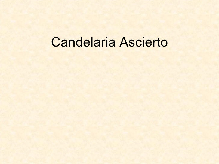 Candelaria Ascierto