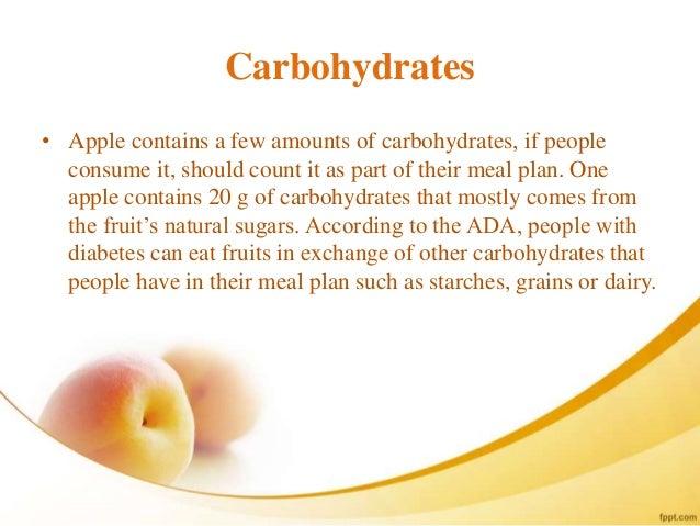 Can diabetics eat apples
