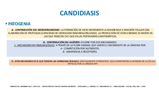 Candidiasis for Piscina y candidiasis