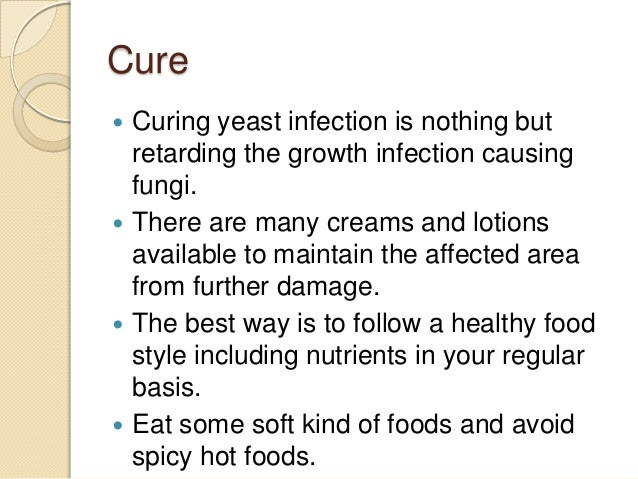 Anus infection yeast