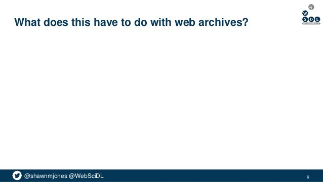 @shawnmjones @WebSciDL What does this have to do with web archives? 6