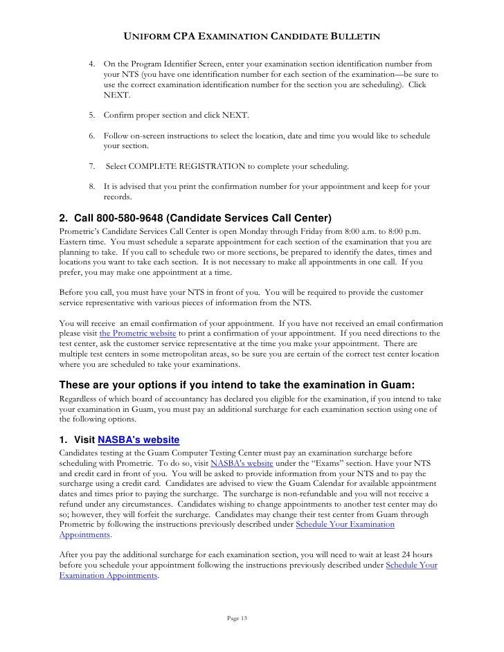 cpa candidate bulletin Why take the cpa exam review the cpa candidate bulletin, the official handbook published by the aicpa for individuals who plan to take the candidates for the exam can take the exam in the first two months of every calendar quarter, with.