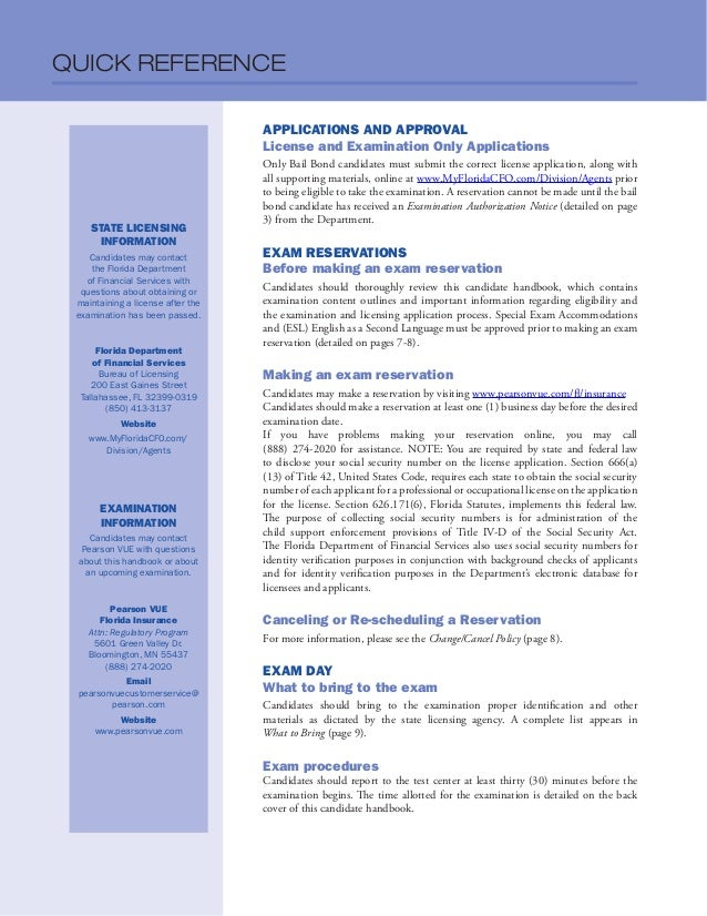 Florida Insurance Licensing