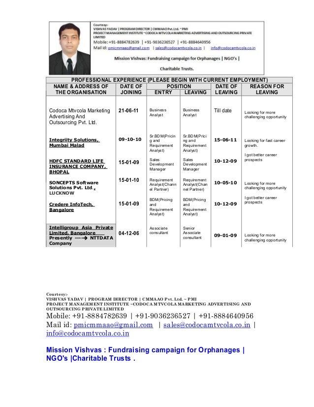 Candidate info sheet Slide 3