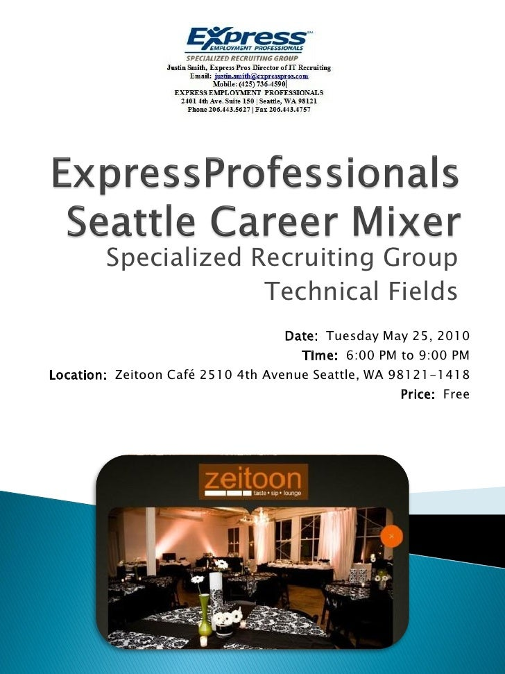 Specialized Recruiting Group                      Technical Fields                                    Date: Tuesday May 25...