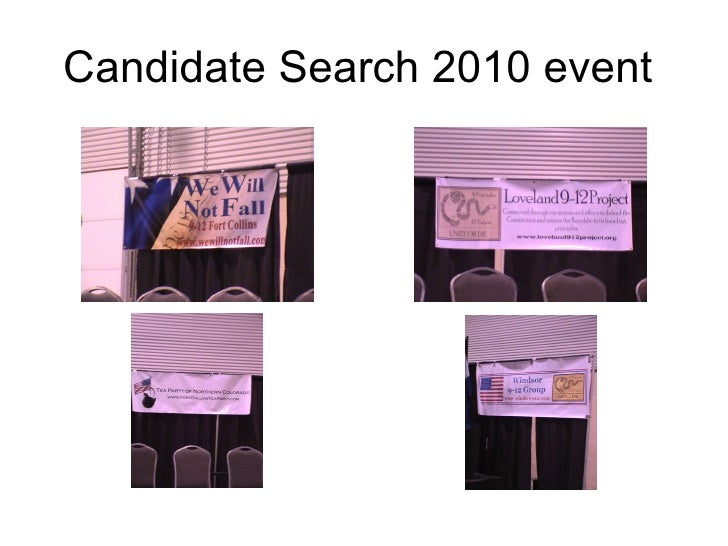 Candidate Search 2010 event
