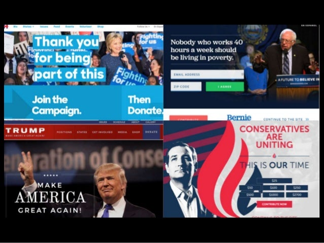 NARRATIVE STRENGTH IS MEASURABLE. CANDIDATES' WEBSITES PROVE IT.