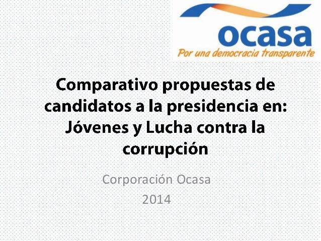 Corporación Ocasa 2014