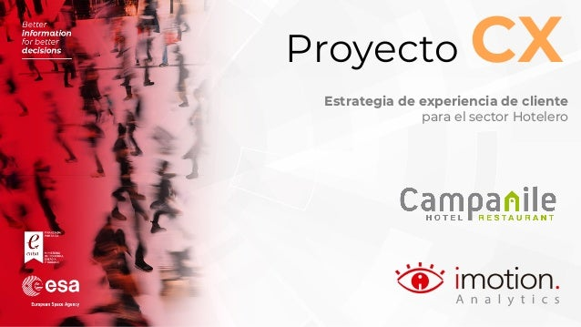 Proyecto CX Estrategia de experiencia de cliente para el sector Hotelero
