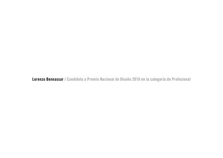 Candidatura Premio Nacional Diseno 2010 Slide 3