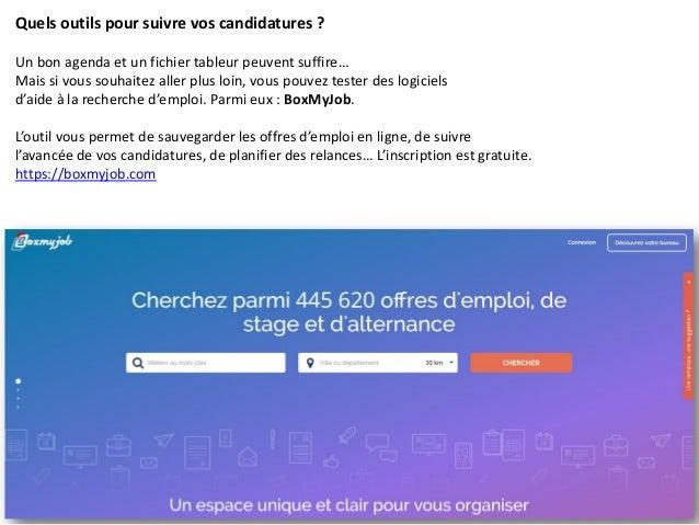 candidatures par email