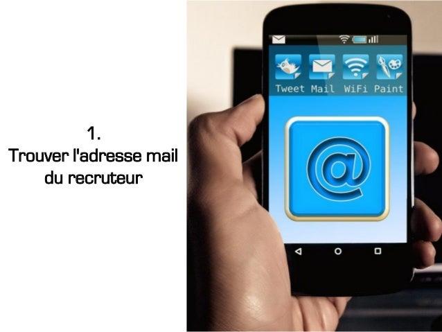 1. Trouver l'adresse mail du recruteur