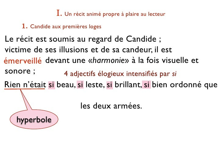 hyperbole in candide A summary of themes in voltaire's candide learn exactly what happened in this chapter, scene, or section of candide and what it means perfect for acing essays, tests, and quizzes, as well.