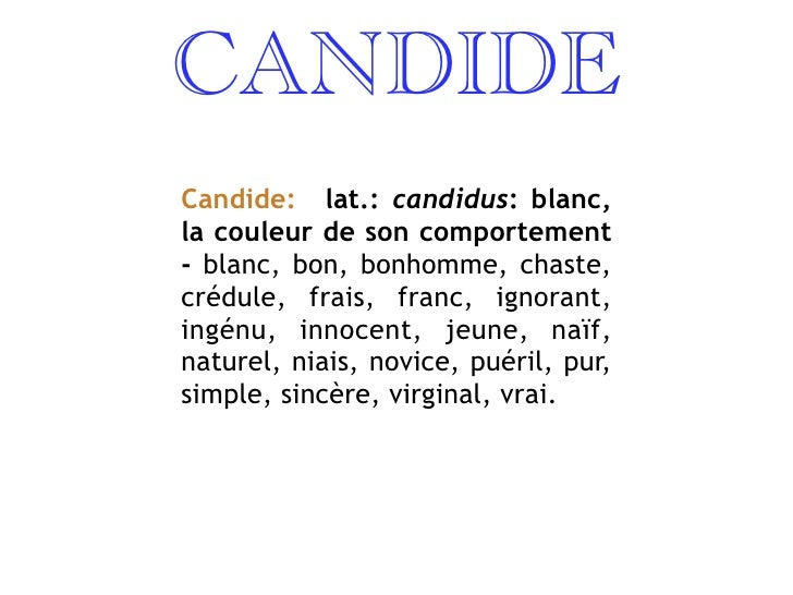 an analysis of ignoramuses in candide by voltaire Voltaire utilized satire, characterization, and techniques of exaggeration and contrast to represent candide's point of view in life.