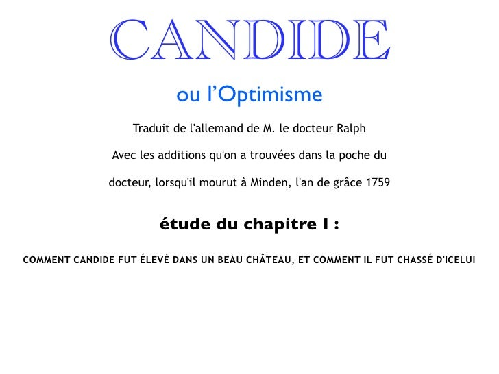 Candide voltaire essay questions