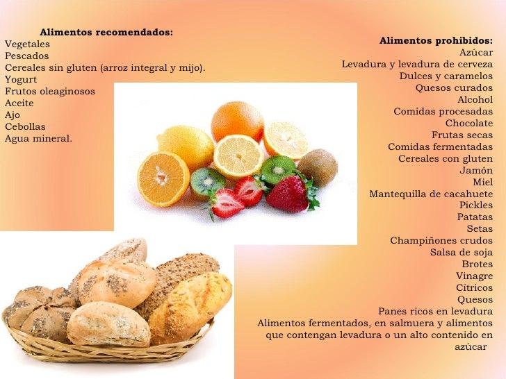 Candidiasis - Alimentos ricos en gluten ...