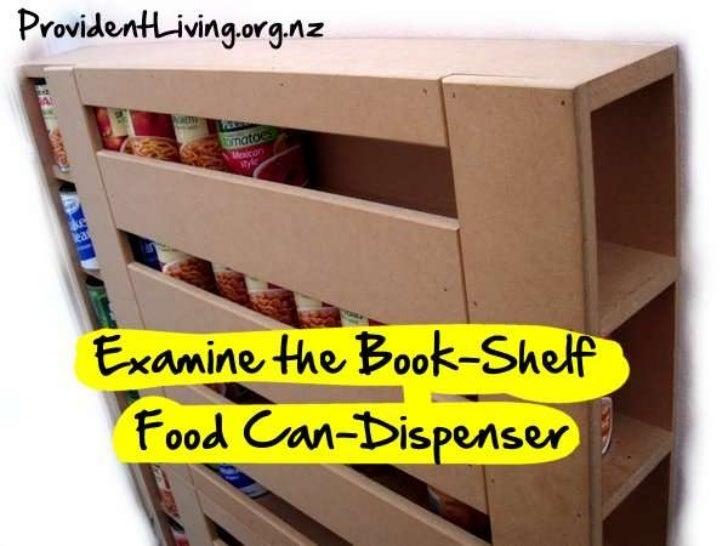 Examine a can dispenser