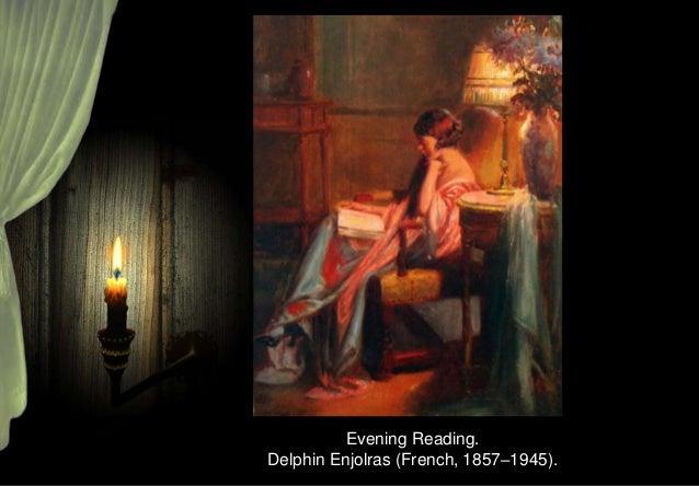 The Reading Light (1884). Georg Pauli (Swedish, 1855-1935).