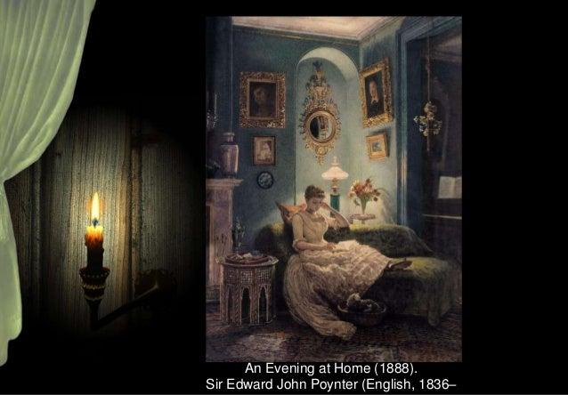 Beside the lamp. Max Carlier (Belgian, 1872-1938).