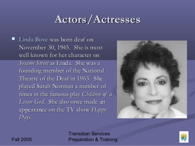 phyllis frelich essay Medoff adapted the screenplay from his theater script, which he wrote for phyllis frelich, another hearing-impaired actress  by providing our essays, term papers .