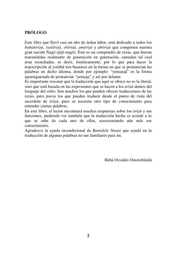 Candomblé adura-orin-orisa rezas orixas jeje nago (baba osvaldo omotobatalá Slide 3