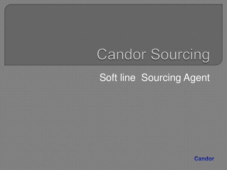 Soft line Sourcing Agent
