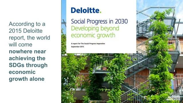 Social Progress Index vs. GDP per capita World SDGs 2030 target
