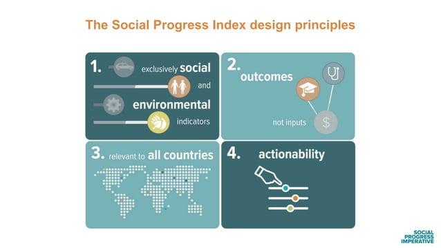 The Social Progress Index design principles