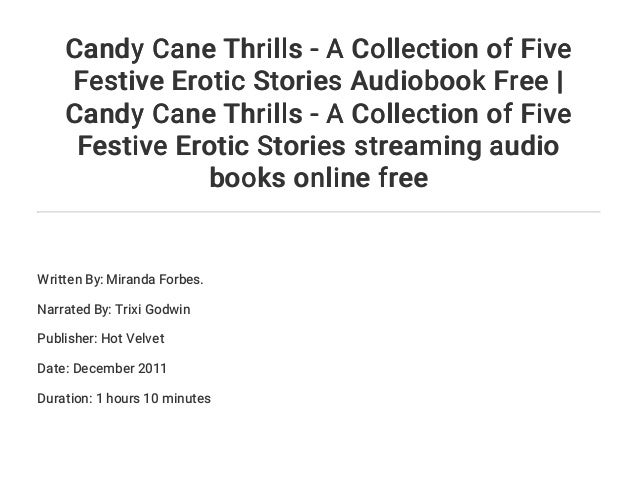 Candy Cane Thrills - a collection of five festive erotic stories