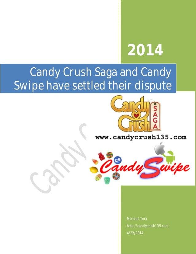 candy crush saga and candy swipe have settled their dispute