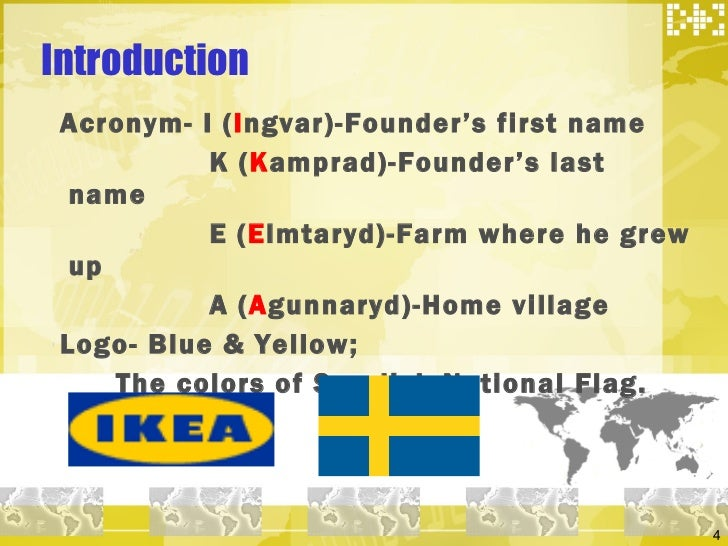 a history of ikea a swedish catalogue founded by ingvar kamprad Ikea founder ingvar kamprad dies at 91  ingvar kamprad, founder of swedish multinational furniture  in a 1998 book he co-authored about ikea's history,.