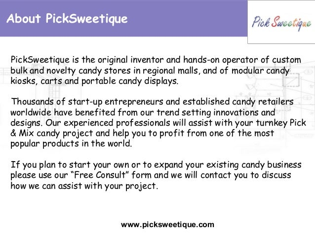 candy store business plan pdf