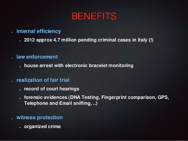 italian criminal justice system Get a component summary of the us criminal justice system law enforcement, adjudication, and corrections.