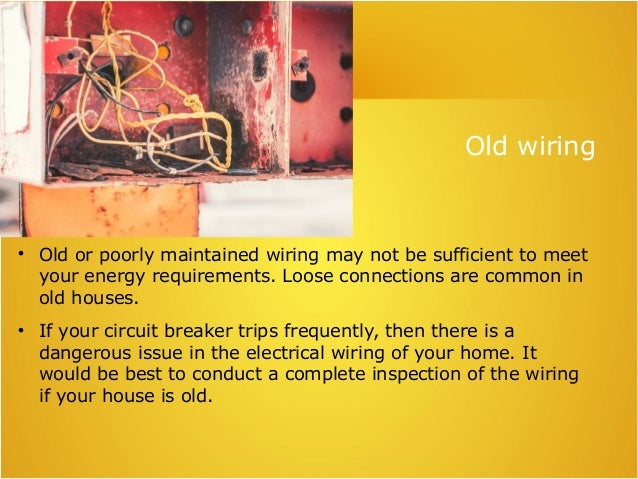 Can faulty wiring increase my electricity bill ?