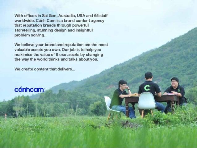 Canh Cam: Creative Content Credentials Slide 3