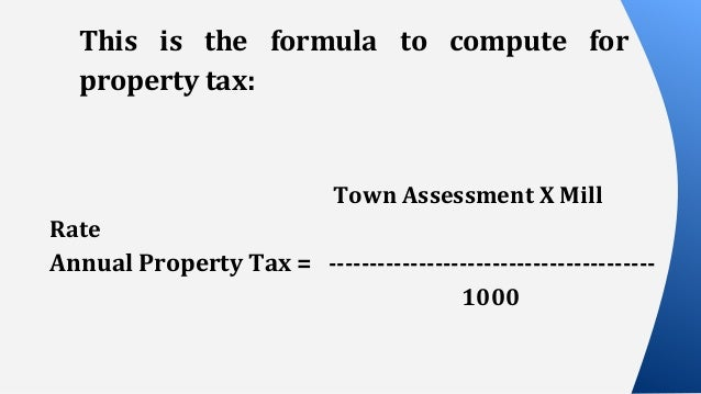 Property Tax Connecticut By Town