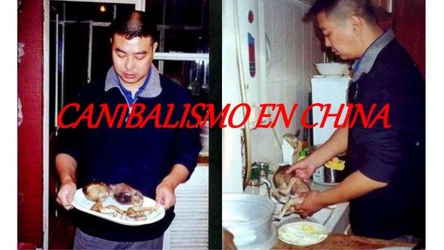CANIBALISMOEN CHINA